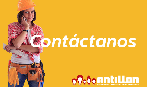 sección contacto web antillon
